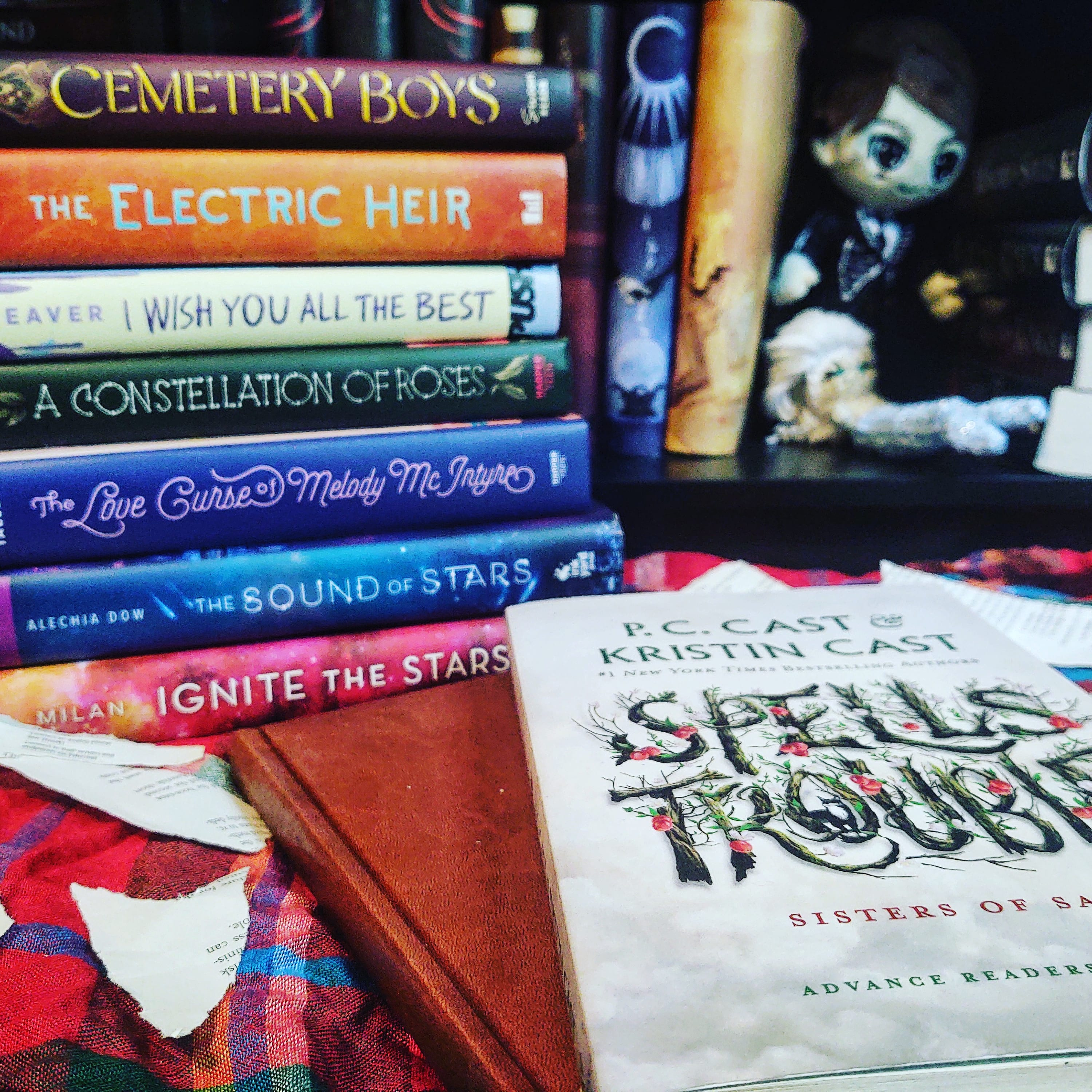 Spells Trouble by P.C. and Kristen Cast