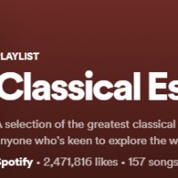 Classical Music Spotify/Youtube Recs